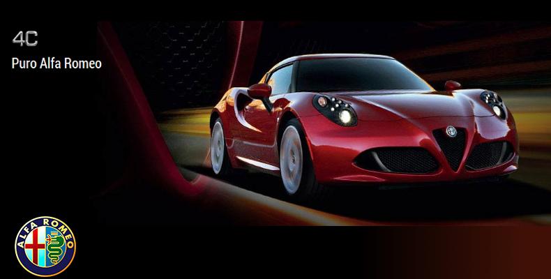4C Puro Alfa Romeo