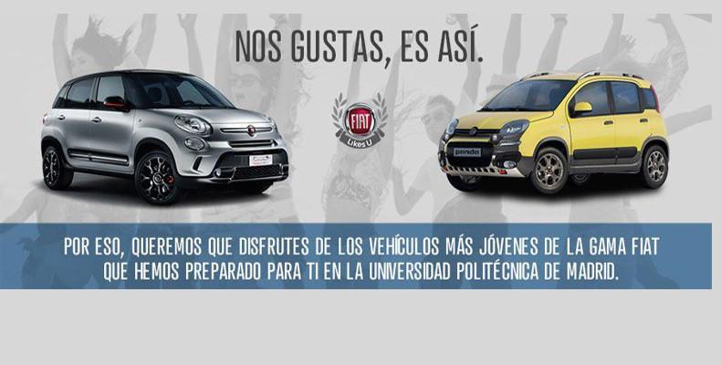 Fiat, nos gustas, es así.