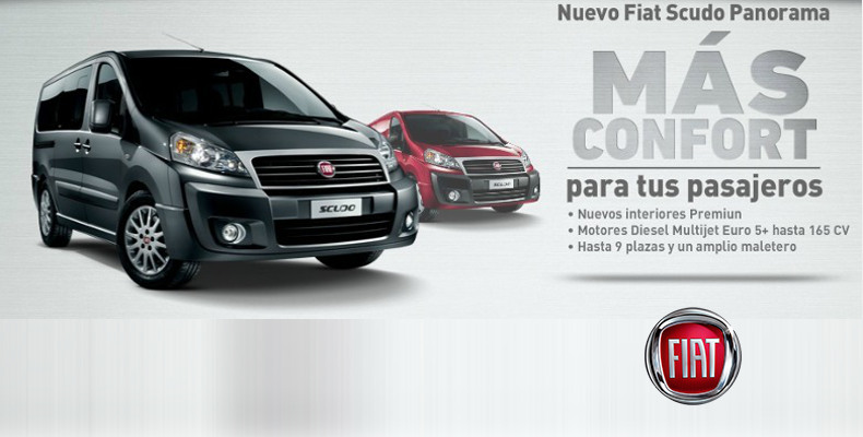 Nuevo Fiat Scudo Panorama